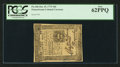 Colonial Notes:Pennsylvania, Pennsylvania October 25, 1775 18d PCGS New 62PPQ.. ...