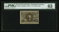 Fractional Currency:Second Issue, Fr. 1290 25¢ Second Issue PMG Choice Uncirculated 63.. ...