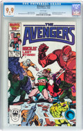 Modern Age (1980-Present):Superhero, The Avengers #274 (Marvel, 1986) CGC MT 9.9 White pages....