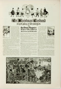 Books:Periodicals, [Periodical] The Ladies' Home Journal. December 1909.Lacking front wrapper. A few pages detached. One page with a f...