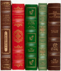 Books:Fine Bindings & Library Sets, [Historical Fiction]. [Colette, Heinrich Boll, William Styron, Ellen Glasgow, Dee Brown]. Group of Five Franklin Library Books... (Total: 5 Items)