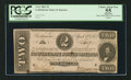 Confederate Notes:1863 Issues, T61 $2 1863 PF-7 Cr. 473.. ...