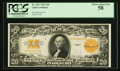 Large Size:Gold Certificates, Fr. 1187 $20 1922 Gold Certificate PCGS Choice About New 58.. ...