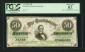 Confederate Notes:1863 Issues, T57 $50 1863 PF-4 Cr. 106.. ...