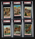 "Non-Sport Cards:Sets, 1938 Liebig ""Julius Caesar"" Dutch Text Complete Set (6) - #1 on thePSA Set Registry! ..."