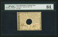 Colonial Notes:New Hampshire, New Hampshire April 29, 1780 $8 PMG Choice Uncirculated 64.. ...