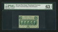 Fractional Currency:First Issue, Fr. 1310 50¢ First Issue PMG Choice Uncirculated 63 EPQ.. ...