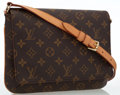 Luxury Accessories:Bags, Louis Vuitton Classic Monogram Canvas Musette Tango PM Bag . ...