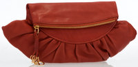 Christian Dior Tawny Leather Clutch