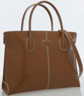 Luxury Accessories:Bags, Tod's Brown Leather Tote Bag. ...