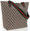 Luxury Accessories:Bags, Gucci Classic Monogram Canvas Tote Bag. ...