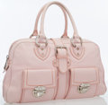 Luxury Accessories:Bags, Marc Jacobs Pink Leather Lola Satchel Bag . ...