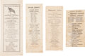 Political:Small Paper (1896-present), Abraham Lincoln and George McClellan: 1864 Ballots. ... (Total: 3 Items)