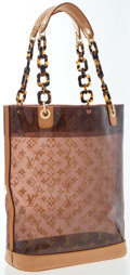 Luxury Accessories:Bags, Louis Vuitton Limited Edition Monogram Vinyl Ambre Cruise Cabas MMBag. ...
