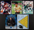 Miscellaneous Collectibles:General, Misc. Sports Legends Signed Photographs Lot of 5....