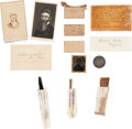 Political:Presidential Relics, John Brown: Assorted Relics. ... (Total: 2 Items)