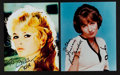 Miscellaneous Collectibles:General, Brigitte Bardot and Penny Marshall Signed Photographs (2)....