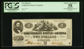 Confederate Notes:1862 Issues, T42 $2 1862 PF-2 Cr. 335.. ...