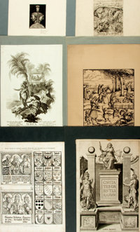 Group of Six Prints and Engravings. Various publishers and dates