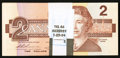 Canadian Currency: , BC-55b $2 1986, 100 Consecutive Examples.. ... (Total: 100 notes)