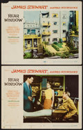 "Movie Posters:Hitchcock, Rear Window (Paramount, 1954). Lobby Cards (2) (11"" X 14"").Hitchcock.. ... (Total: 2 Items)"
