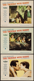 """Movie Posters:Hitchcock, The Trouble with Harry (Paramount, 1955). Lobby Cards (3) (11"""" X14""""). Hitchcock.. ... (Total: 3 Items)"""