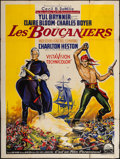 "Movie Posters:Adventure, The Buccaneer (Paramount, 1959). French Grande (46.5"" X 62.5"").Adventure.. ..."