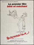 "Movie Posters:Foreign, Macunaima (Films 13, 1972). French Grande (47"" X 63""). Foreign.. ..."