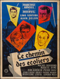 """Movie Posters:Foreign, Le Chemin des écoliers (Gaumont, 1959). French Grande (47"""" X 63""""). Foreign.. ..."""