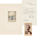 Photography:CDVs, John Hay: Carte-de-Visite and Meserve Photograph. ... (Total: 6 Items)