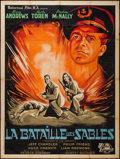 "Movie Posters:War, Sword in the Desert (Universal International, 1949). French Grande(47"" X 63""). War.. ..."