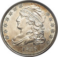 Bust Dimes: , 1835 10C MS63 PCGS. JR-3, R.2. A late die state with heavy cracksby the A in STATES and the first A in AMERICA. Faint die ...