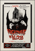 """Movie Posters:Horror, Nightmare in Blood & Other Lot (PFE, 1977). One Sheet (28.75"""" X 41.25"""", 27"""" X 41""""). Horror.. ... (Total: 2 Items)"""