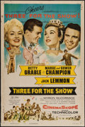 """Movie Posters:Musical, Three for the Show (Columbia, 1954). One Sheet (27"""" X 41"""").Musical.. ..."""
