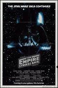 "Movie Posters:Science Fiction, The Empire Strikes Back (20th Century Fox, 1980). One Sheet (27"" X41"") Advance Style. Science Fiction.. ..."
