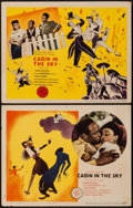 "Movie Posters:Musical, Cabin in the Sky (MGM, 1943). Lobby Cards (2) (11"" X 14"").Musical.. ... (Total: 2 Items)"