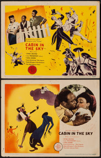 """Cabin in the Sky (MGM, 1943). Lobby Cards (2) (11"""" X 14""""). Musical. ... (Total: 2 Items)"""