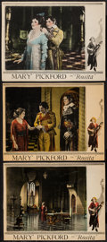 """Movie Posters:Romance, Rosita (United Artists, 1923). Trimmed Lobby Cards (3) (10"""" X 13.25""""). Romance.. ... (Total: 3 Items)"""