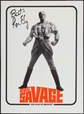 "Movie Posters:Adventure, Doc Savage: The Man of Bronze (Warner Brothers, 1975). PromotionalPoster (20"" X 27""). Adventure.. ..."