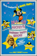 "Movie Posters:Animation, Mickey's Birthday Party Show & Others Lot (Buena Vista, 1978). One Sheets (4) (27"" X 41"") & Lobby Cards (7) (11"" X 14""). Ani... (Total: 11 Items)"