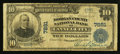 National Bank Notes:Kentucky, Cannel City, KY - $10 1902 Plain Back Fr. 625 The Morgan County NBCh. # 7891. ...