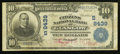 National Bank Notes:Kentucky, Glasgow, KY - $10 1902 Plain Back Fr. 628 The Citizens NB Ch. #(S)8439. ...