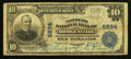 National Bank Notes:Kentucky, Hodgenville, KY - $10 1902 Plain Back Fr. 624 The Farmers NB Ch. #6894. ...