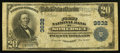 National Bank Notes:Kentucky, Somerset, KY - $20 1902 Date Back Fr. 644 The First NB Ch. # 3832....
