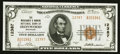 National Bank Notes:Michigan, Ironwood, MI - $5 1929 Ty. 2 The Merchants & Miners NB Ch. # 12387. ...