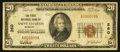 National Bank Notes:Missouri, Saint Charles, MO - $20 1929 Ty. 1 The First NB Ch. # 260. ...
