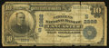 National Bank Notes:Kentucky, Lancaster, KY - $10 1902 Date Back Fr. 616 The Citizens NB Ch. #(S)2888. ...