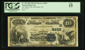 National Bank Notes:Wisconsin, Milwaukee, WI - $10 1882 Date Back Fr. 545 The Marine NB Ch. # (M)5458. ...