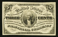 Fractional Currency:Third Issue, Fr. 1226 3¢ Third Issue Choice New.. ...