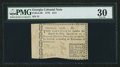 Colonial Notes:Georgia, Low Serial Number 13 Georgia 1776 $1/4 PMG Very Fine 30.. ...